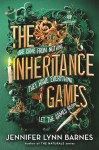 The Inheritance Games by Jennifer Lynn Barnes cover art