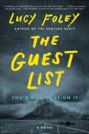 The Guest List by Lucy Foley cover art