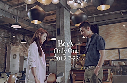 http://blog.ningin.com/2012/07/19/boa-unveils-her-only-one-mv-teaser-with-actor-yoo-ah-in/