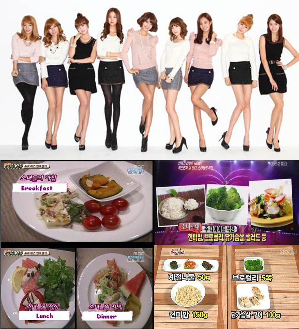 Kpop Idols Diet Secrets: Learn What Korean Idols Eat to Lose Weight