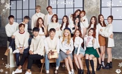 Gugudan, Seo In Guk, VIXX, Ji Yool, Kim Gyu Seon, Kim Ye Won,