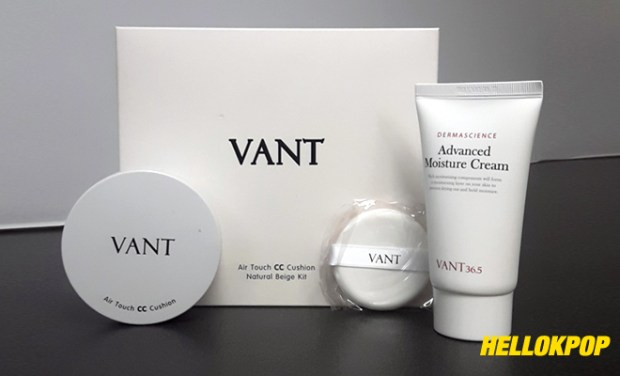 Vant 36.5 Air Touch CC Cushion Natural Beige Kit via Yeppunonnie PH