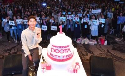 Song Joong Ki, Doota Duty Free 1st Anniversary