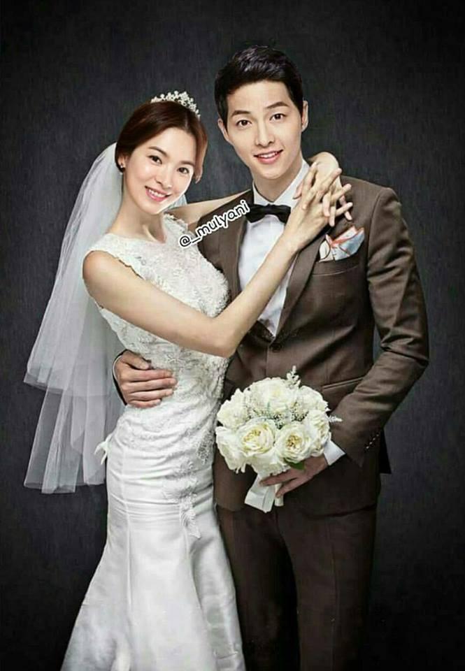 "Song Joong Ki And Song Hye Kyo's ""Photoshopped"" Wedding ..."