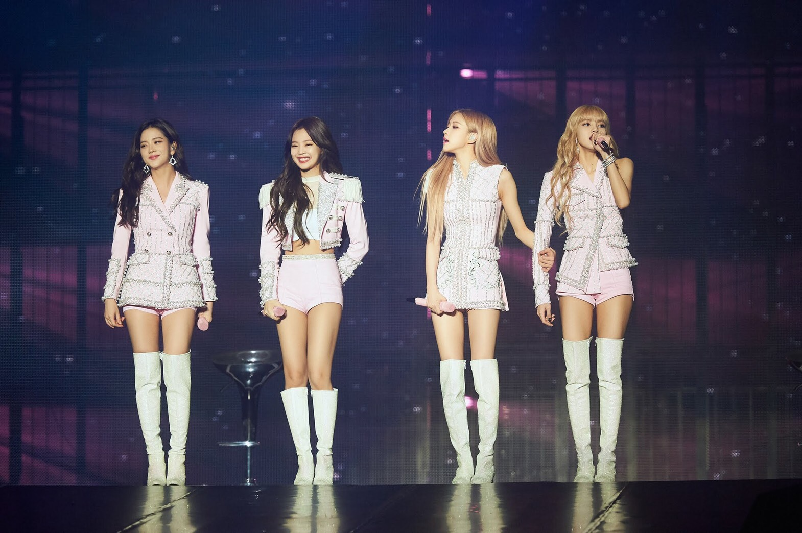 BLACKPINK Delivers Fiery Performances In Singapore Right After The US