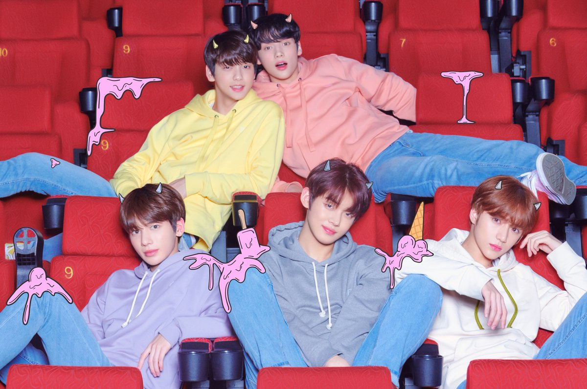 "TXT Goes To The Movies In Second Concept Photos For ""The ..."