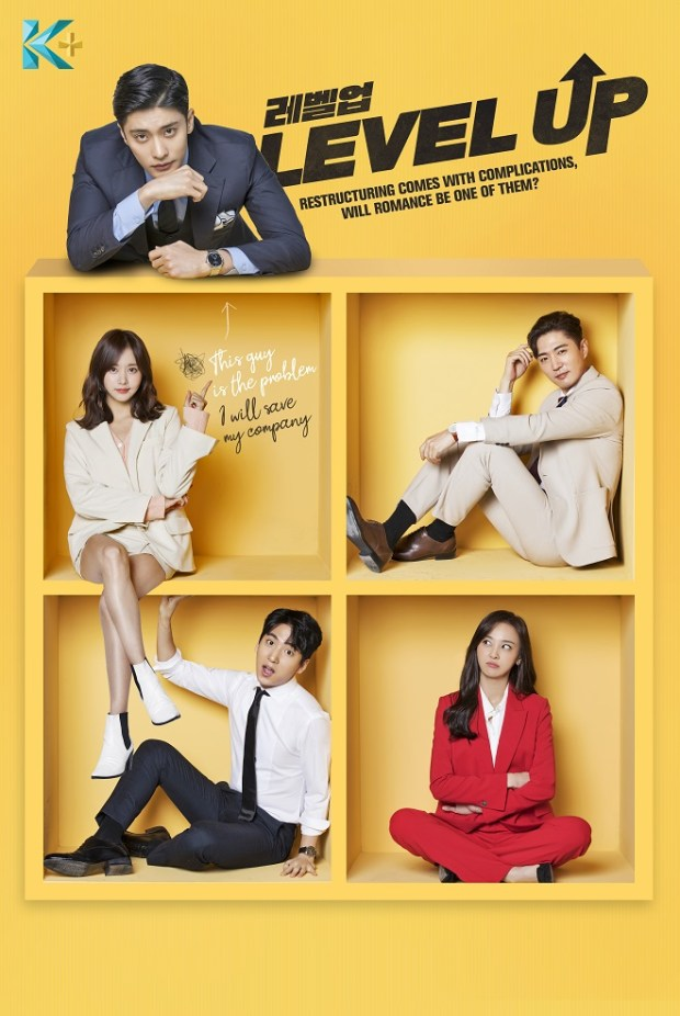 "[K-Drama]: Get ""Level Up"" With Sung Hoon & Han Bo Reum Right On K-PLUS"