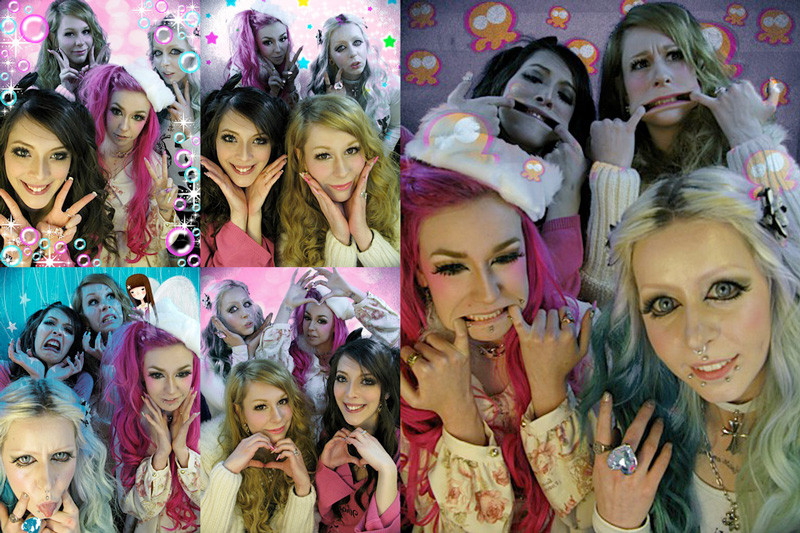 London purikura with UK gyaru