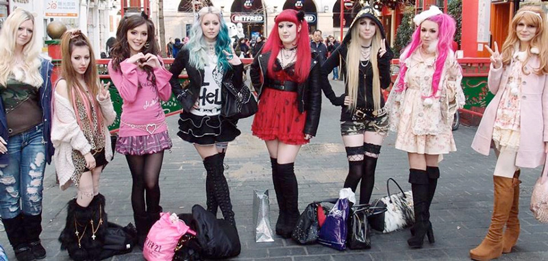 UK gyaru meet in London, 2015