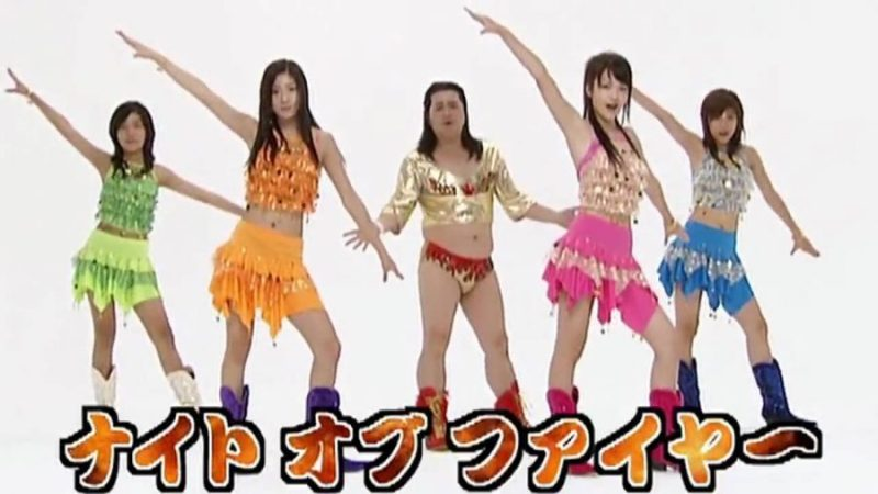 Easy parapara routine - Night of Fire by Hinoi Team