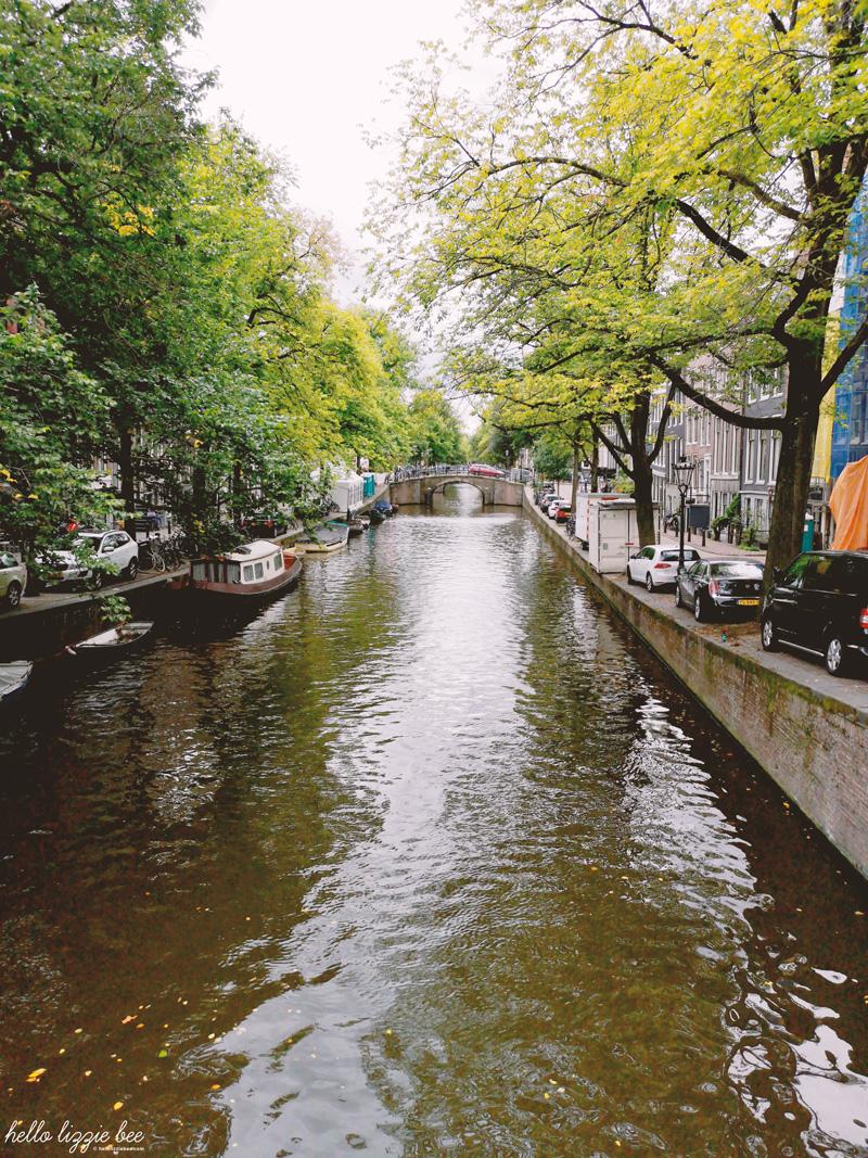 Exploring Amsterdam canals