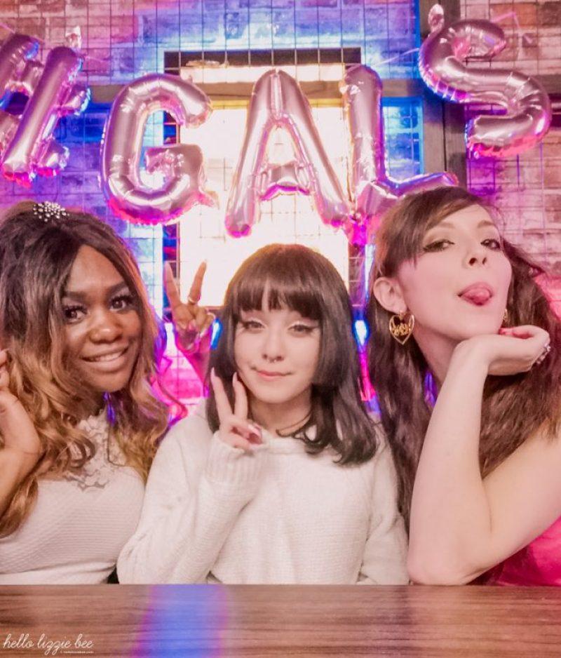 UK Gals Nelly, Karen and Lizzie