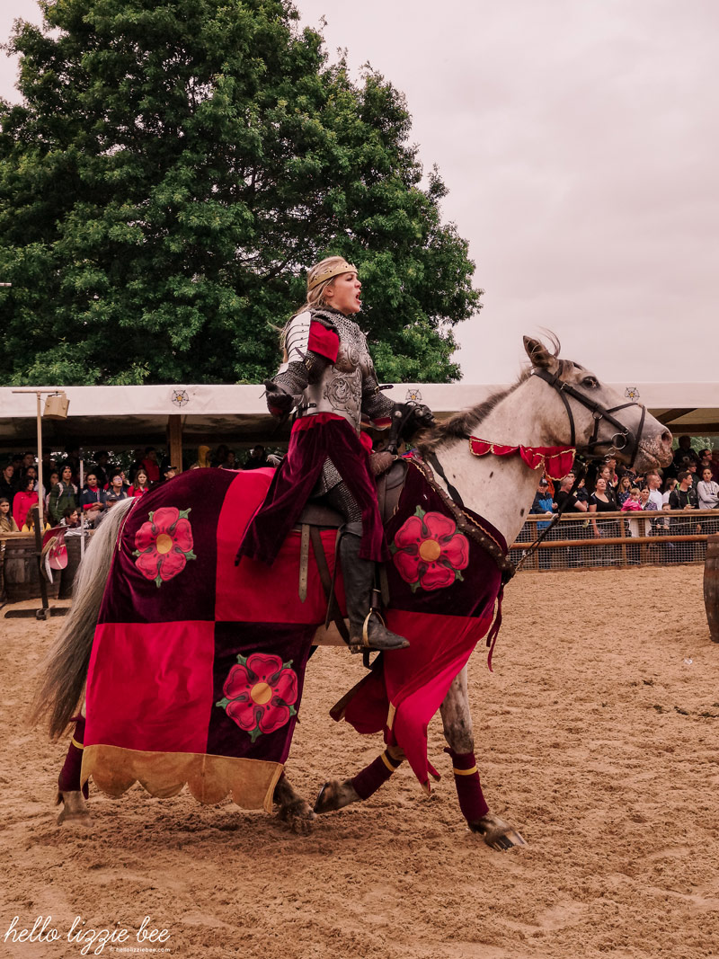 War of Roses at Warwick Castle