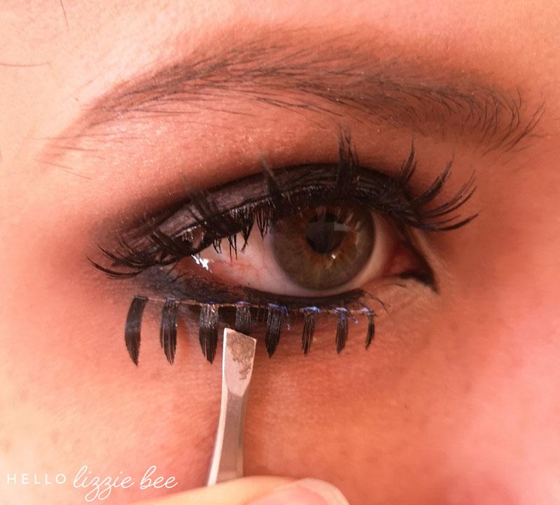 lower false lashes