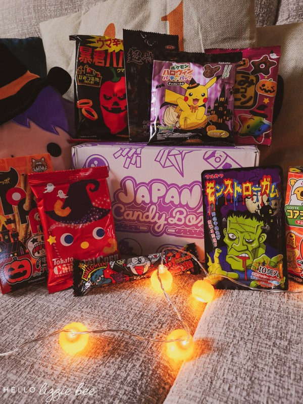 Trick or Treat! October Japan Candy Box Review + Giveaway
