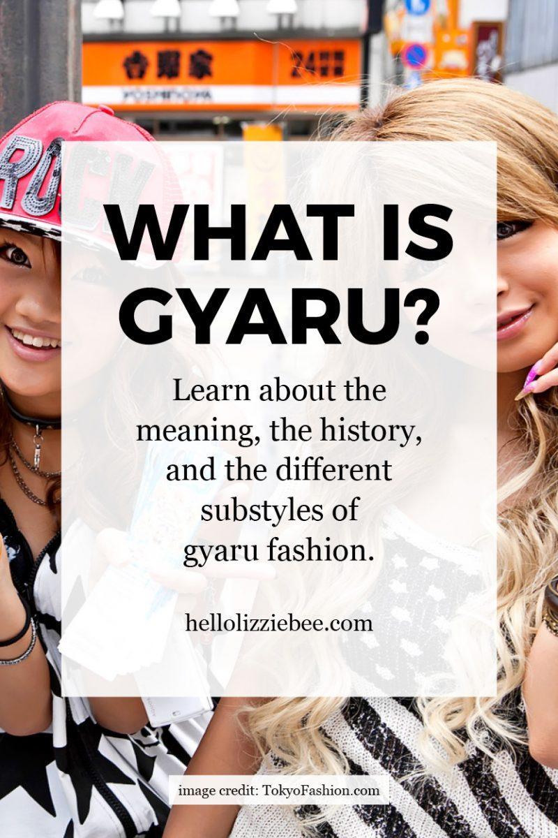 gyaru, gyaru meaning, gaijin gyaru, what is gyaru