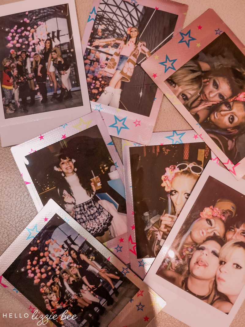 Polaroids from a UK Gyaru meet via hellolizziebee