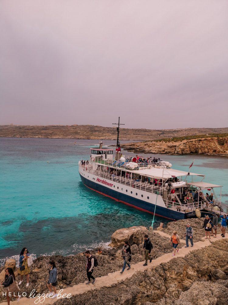 Comino Island ferry