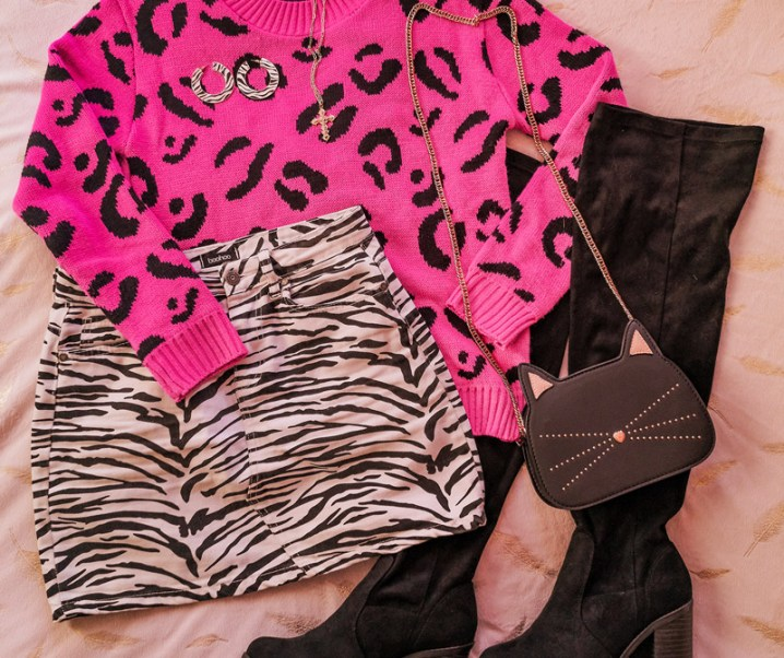 How to Style a Leopard Print Jumper in 4 Ways