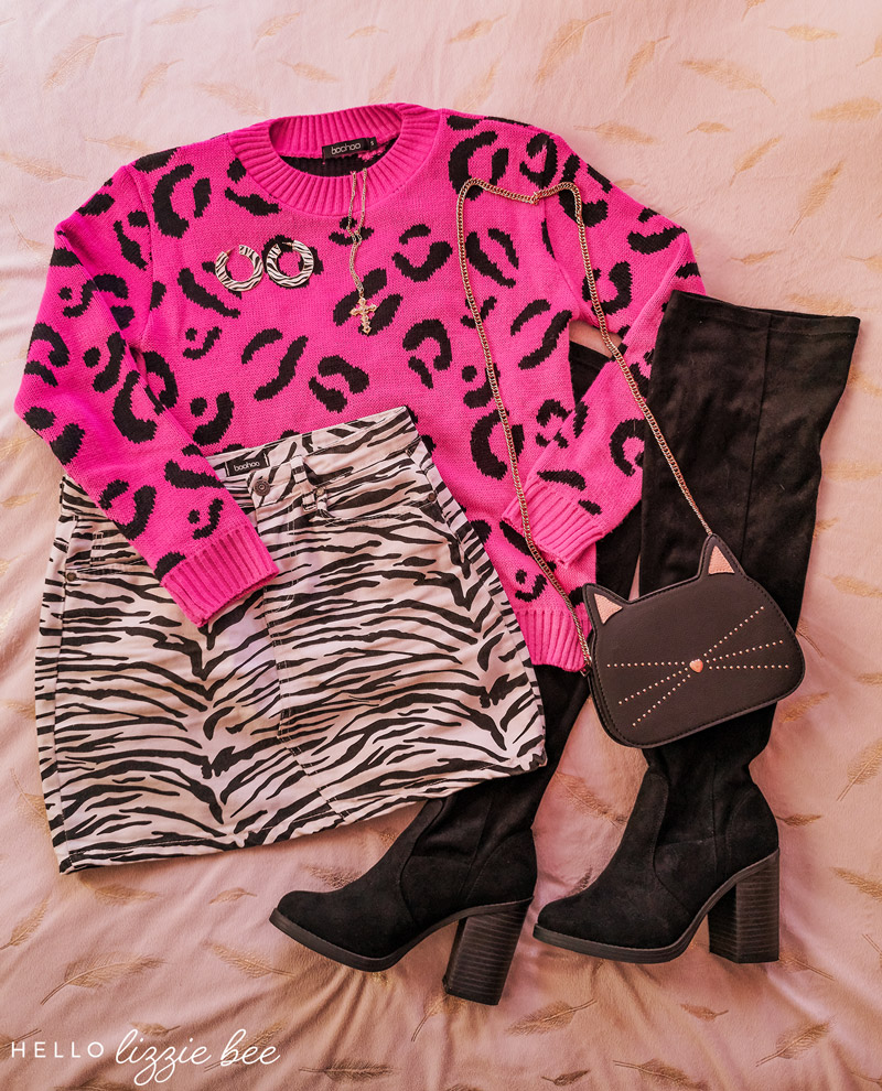 How to style bold animal prints