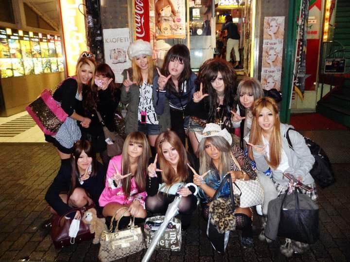 Japanese gyaru community