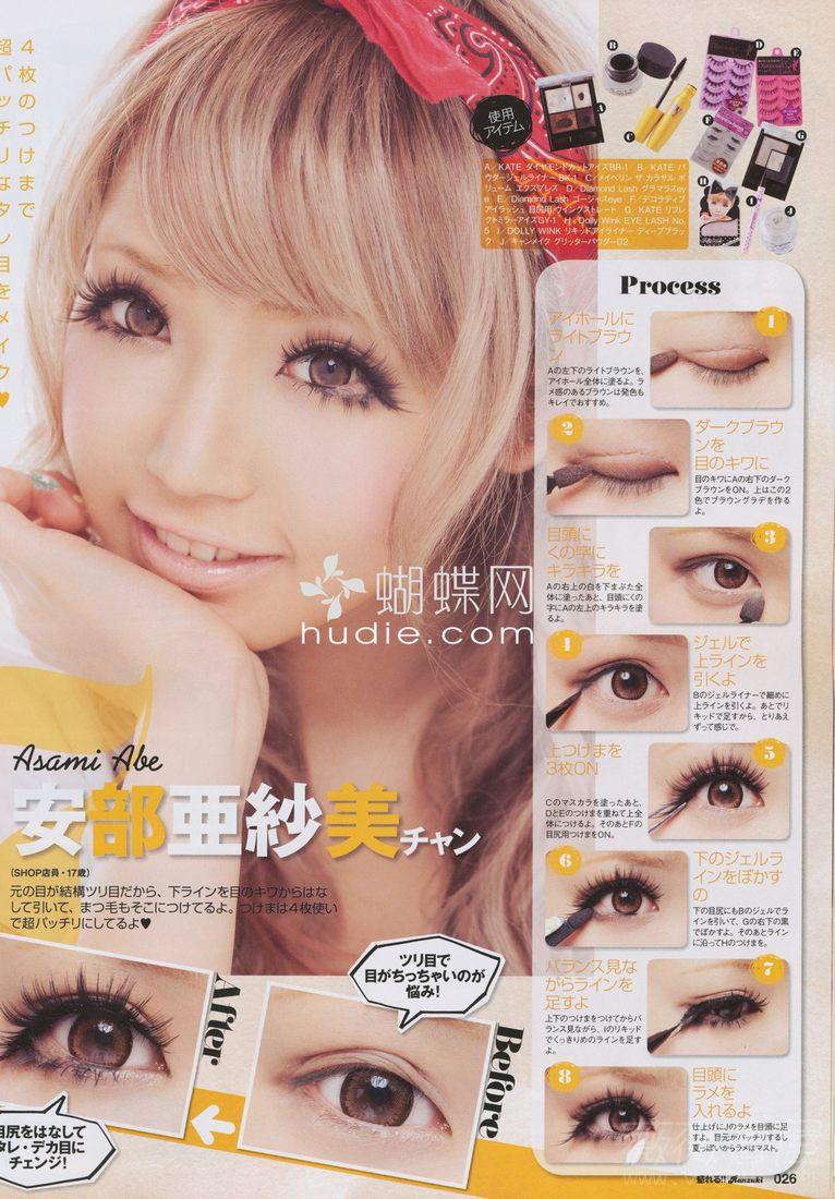 Easy gyaru makeup tutorial featured on hellolizziebee