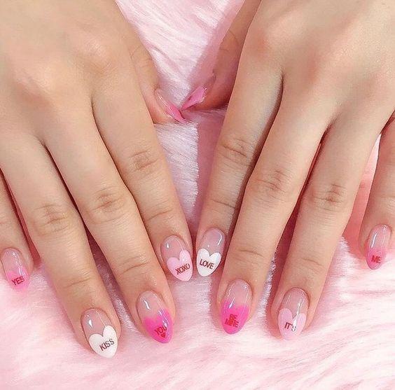 Valentine's Day Nail Inspiration