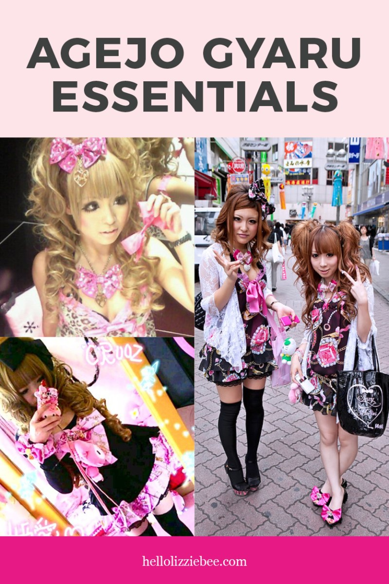 Agejo Gyaru Essentials by hellolizziebee