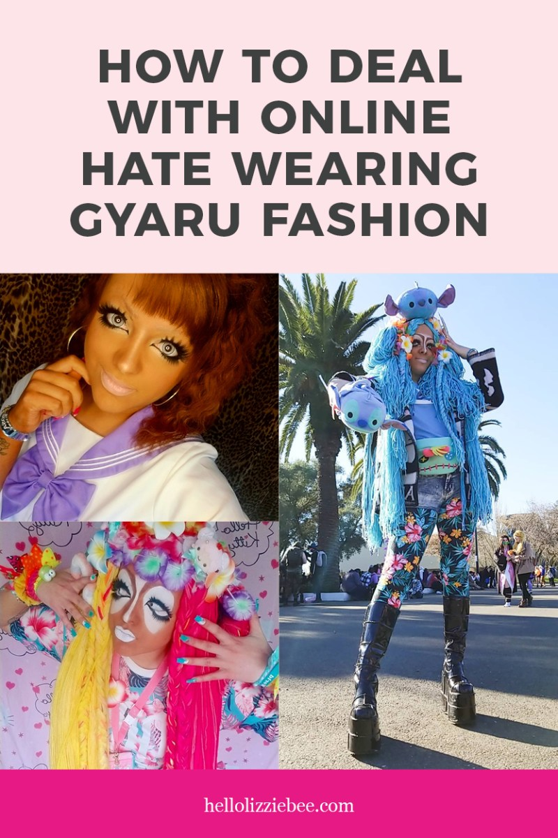 How to deal with Online Hate in Gyaru