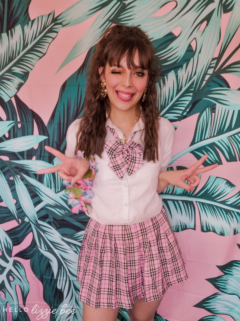 Pink Japanese seifuku outfit by hellolizziebee