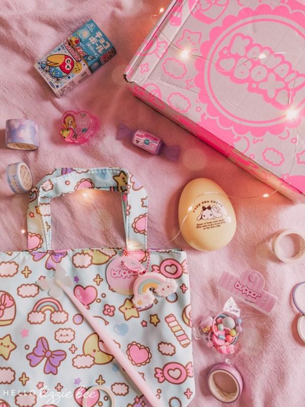 Kawaii Box Review: Kawaii Birthday Home Party (+ Giveaway!)