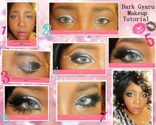 Gyaru Makeup Tutorial by Angie