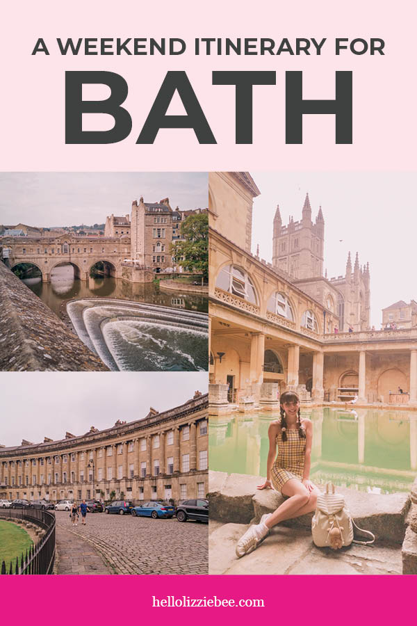 How to Spend a Weekend in Bath, Somerset via hellolizziebee