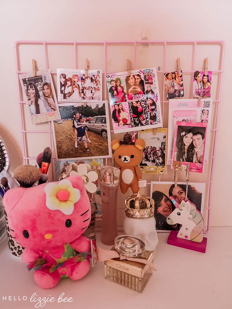 Gyaru Room Decor - Purikura Display
