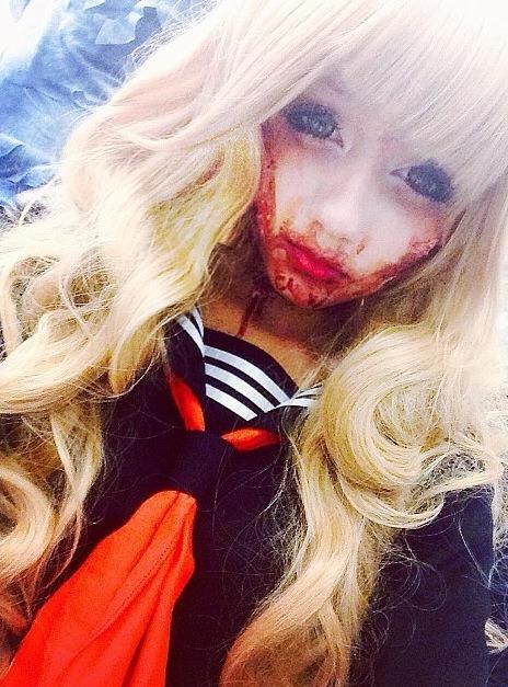 Vampire Schoolgirl