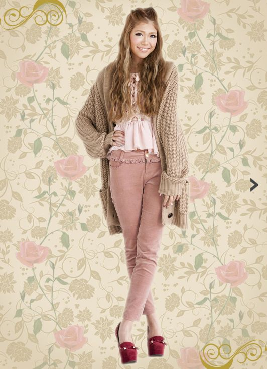 Casual Liz Lisa Coord with Trousers