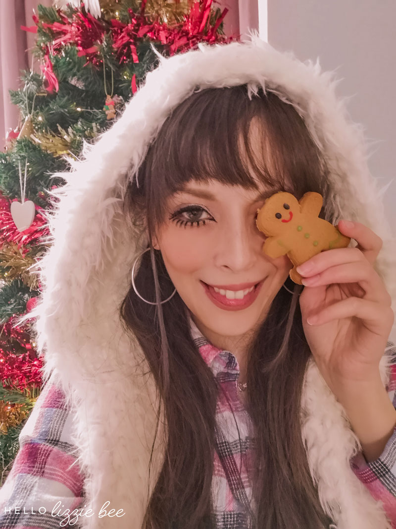 Christmas Gyaru Look