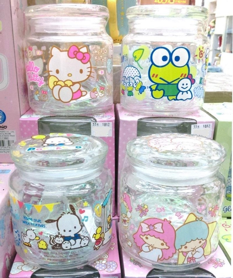 Sanrio Glass Storage Jar