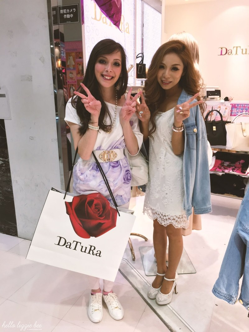 DaTuRa Shop Staff in Shibuya