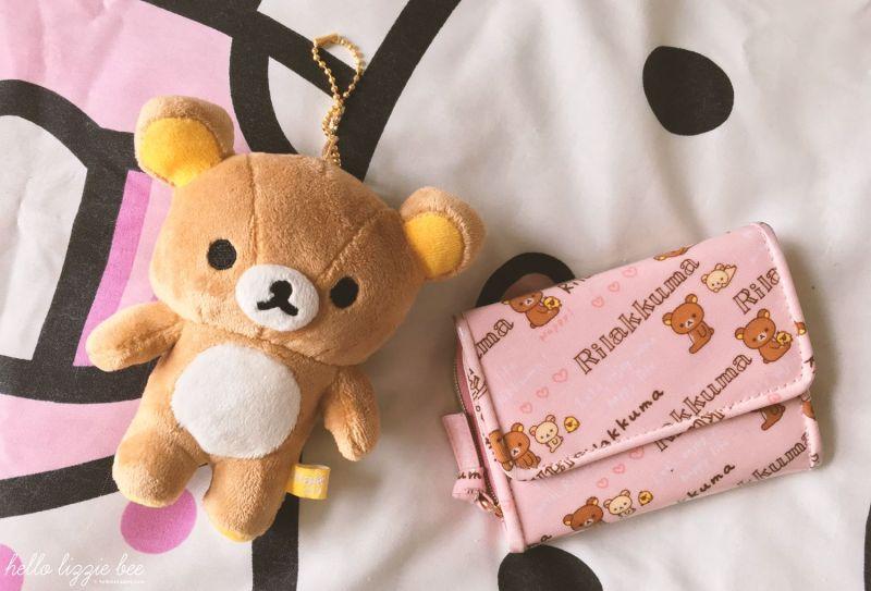 Rilakkuma items from Japan