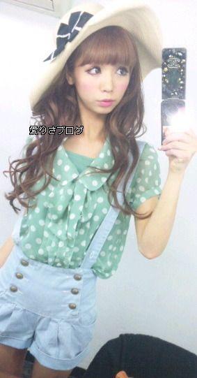 Airisa Fukudome - Popteen model