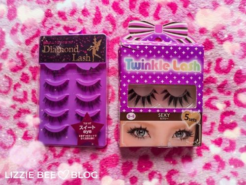 Gyaru makeup - the false lashes