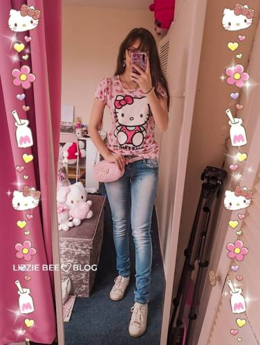 Casual Hello Kitty outfit