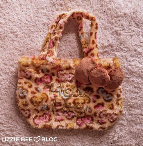 Sanrio Bag Collection - Leopard Print Hello Kitty Bag