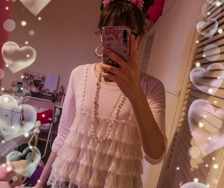 今天穿的衣服 ♡ kitten tea party ♡ himekaji girls