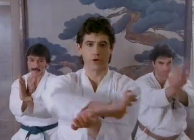 The Karate Rap music video by David and Holly Seeger.