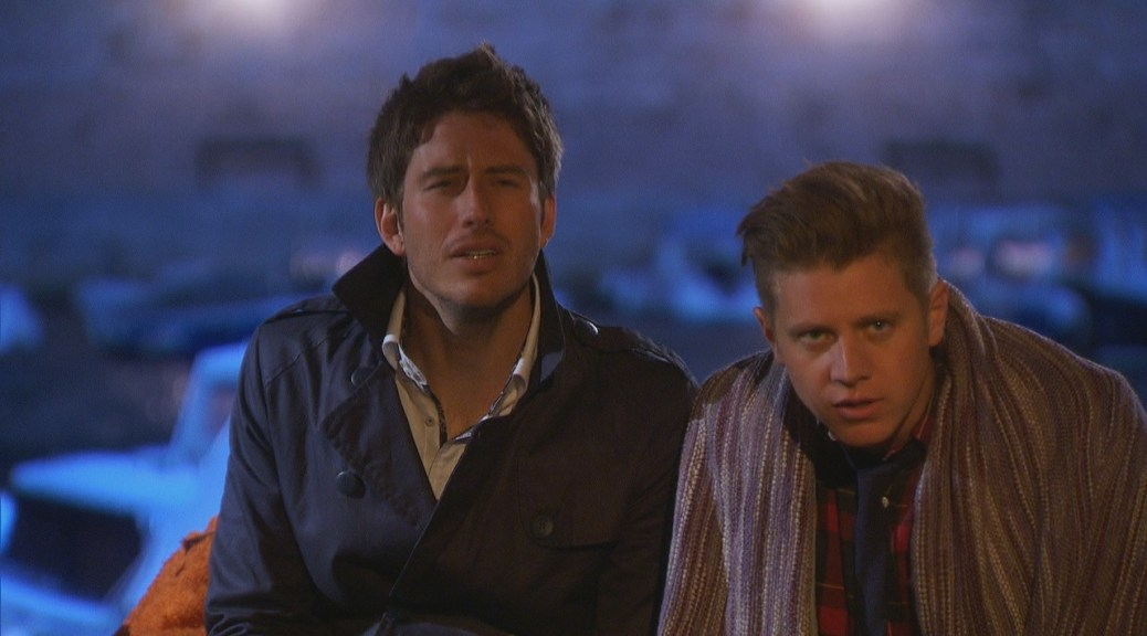 Jef and Arie are the final two on the Bachelorette Breakdown, losers.