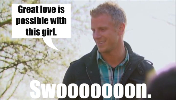 Sean is a loser on the Bachelorette Breakdown.
