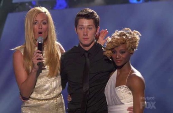 Amber Jackson and Nick Carter on SYTYCD Season 9 Top 20.