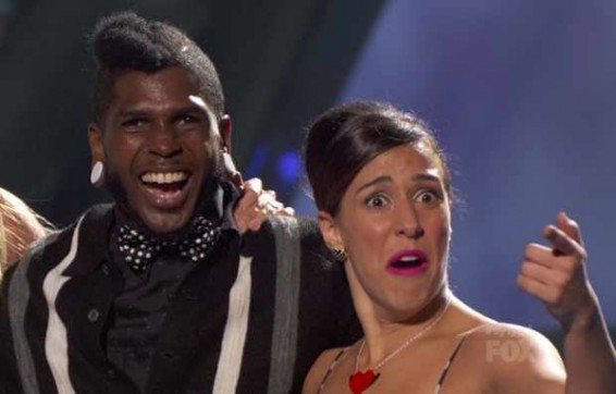 Eliana Girard and Cyrus Spencer on SYTYCD Season 9 Top 20.